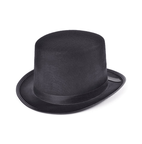 Top Hat, Felt, Black