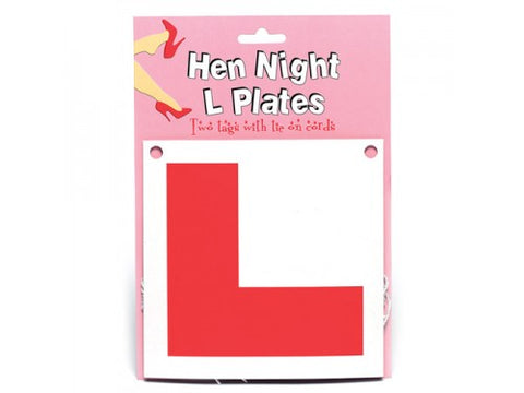 Bride to be - L Plate