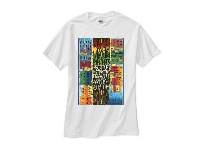 A Tribe Called Quest atcq Instincts white tee shirt