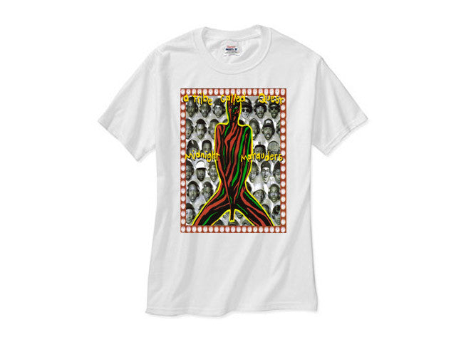 A Tribe Called Quest atcq Midnight Marauders white tee shirt
