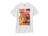 Charles Barkley Elbow Godzilla shirt white tee