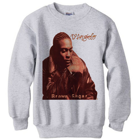 D'Angelo Brown Sugar shirt sweatshirt - Ash Grey