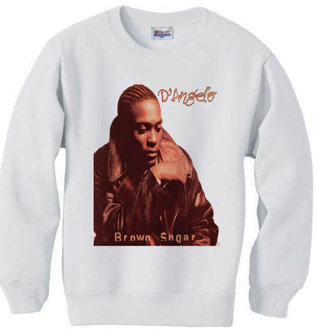 D'Angelo Brown Sugar sweatshirt - White