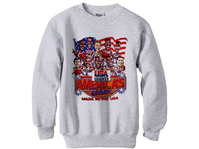 1992 Nba Olympic Dream Team Pride sweatshirt shirt - Ash Grey