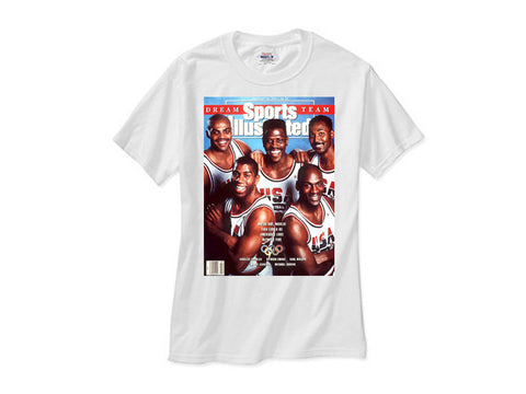 1992 Nba Olympic Dream Team white tee shirt