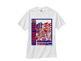 1992 Nba Olympic Dream Team Caricature Cartoon Pride white tee shirt