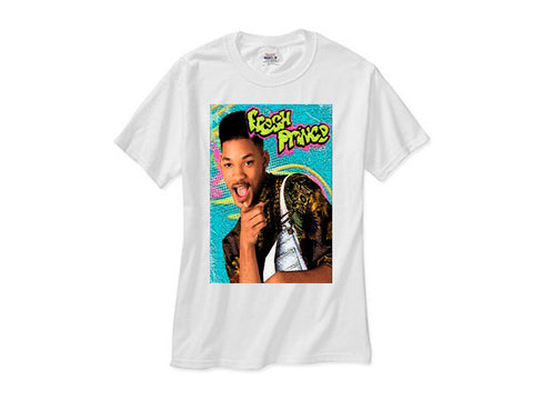 Fresh Prince shirt white tee