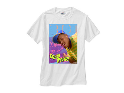 Fresh Prince Smell ya Later! shirt white tee
