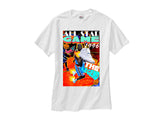 Jordan Retro 11 XI Legend Blue Columbia All Star 96 white tee