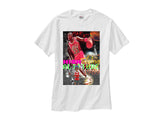 JORDAN 4 IV FIRE RED MARS RETRO white tee