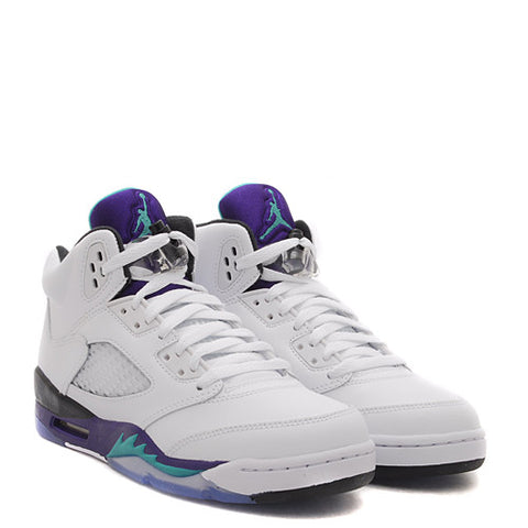 JORDAN RETRO 5 GRAPE SNEAKER (GRADE SCHOOL)