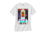 Kid Cudi Merch In Space shirt white tee