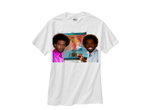 5531f8546c0c38 Kanye West and Kid Cudi Kids See Ghosts Merch Portrait tee shirt tshirt -  White