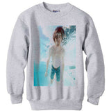 Kurt Cobain Underwater shirt sweatshirt - Ash Grey
