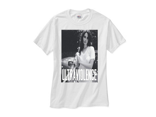 Lana Del Rey Ultraviolence Shirt White Tee Hipsetters Clothing Boutique