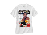 Martin Jordan 11 Bred Red Black shirt tee tshirt - White