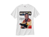 Martin Jordan 4 Bred Red Black Cement shirt tee tshirt - White