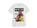Martin Jordan 5 Michigan shirt tee tshirt - White