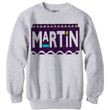 Martin Purple Logo sweatshirt