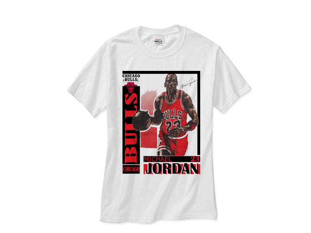 Jordan Chicago Legacy Bred Red Black Cement shirt tee tshirt - White