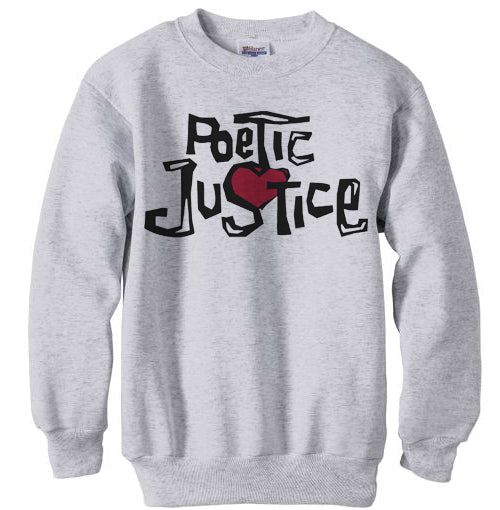 Poetic Justice shirt sweatshirt - ash grey
