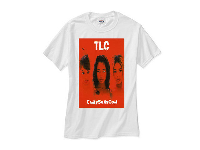 TLC CRAZYSEXYCOOL white tee