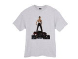 Travis Scott Toy Rodeo T Shirt White and Ash Grey