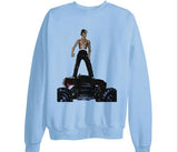 Travis Scott Toy Rodeo shirt sweatshirt - Light Blue