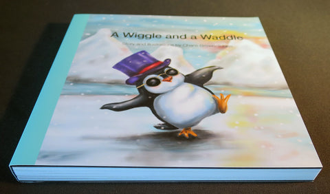 Board book - A Wiggle and a Waddle