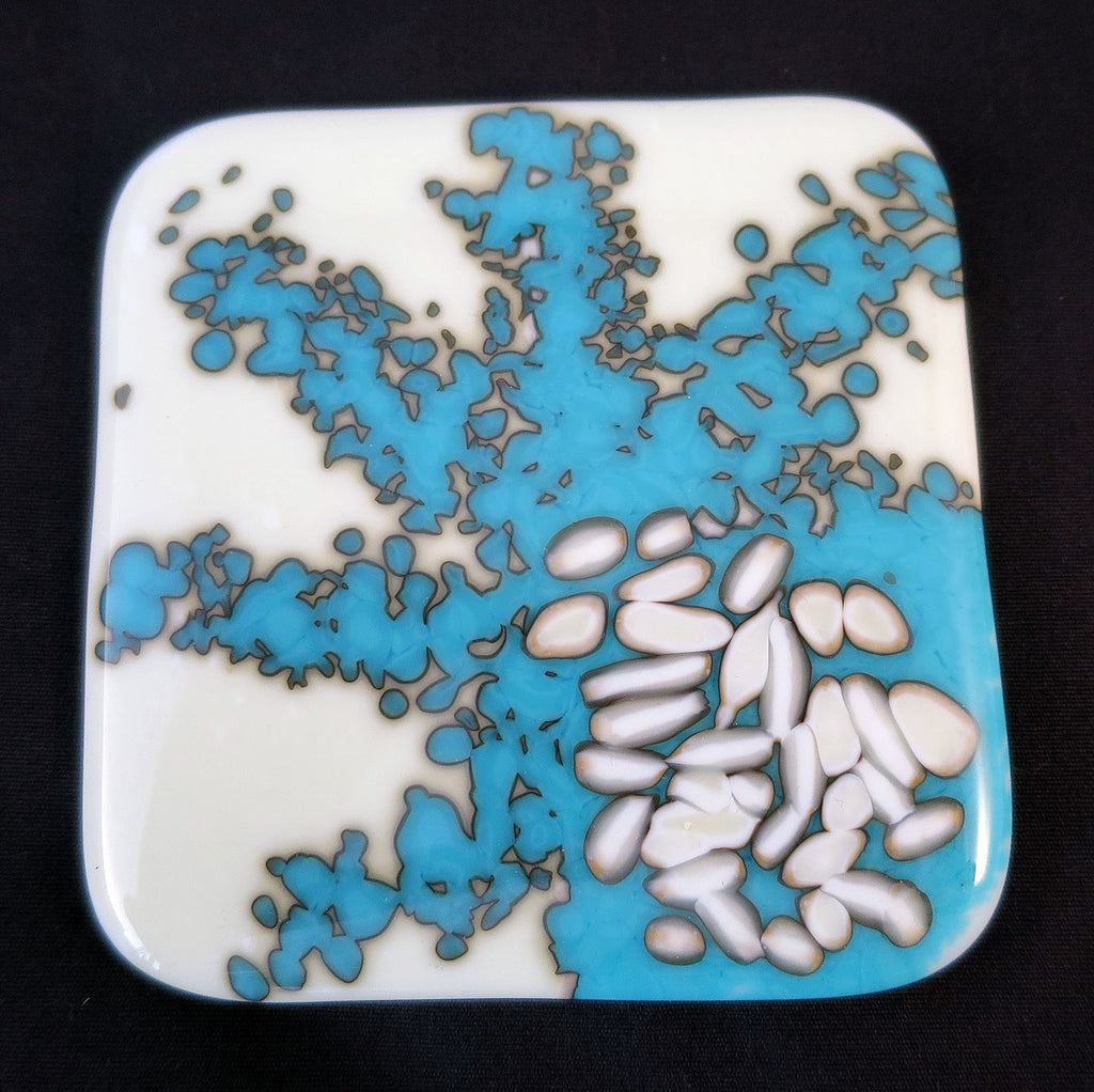 Unique coaster - Organic splotch