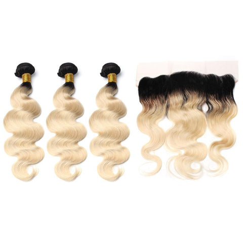 1B/613 Bundle Deals with Lace Frontal