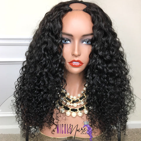 Erotic coil upart wig