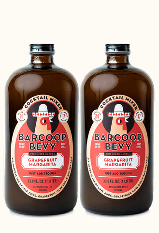 Barcoop Bevy Grapefruit Margarita - 2 Pack