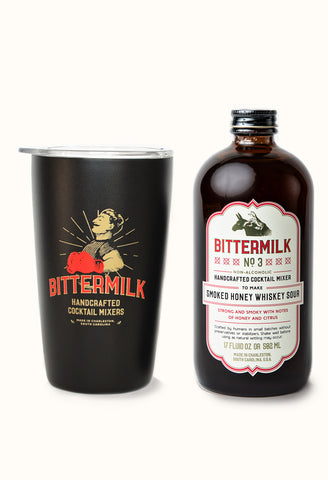 Bittermilk Cocktail Tumbler Set - Choose any Mixer