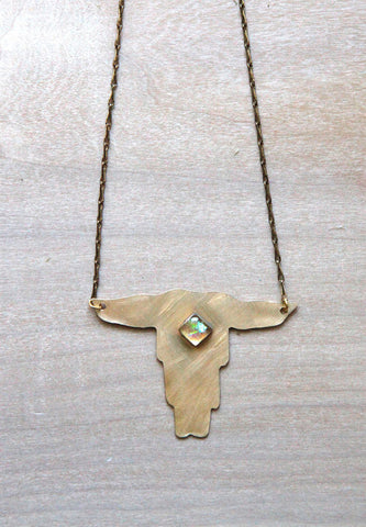 Hook Em Horns Necklace
