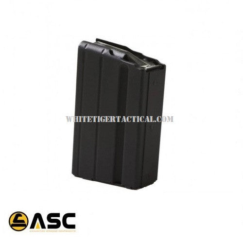 ASC 6.8 SPC 10rd Stainless Steel Magazine 10 Round Mag 6.8-10RD-SS AR-15 M4