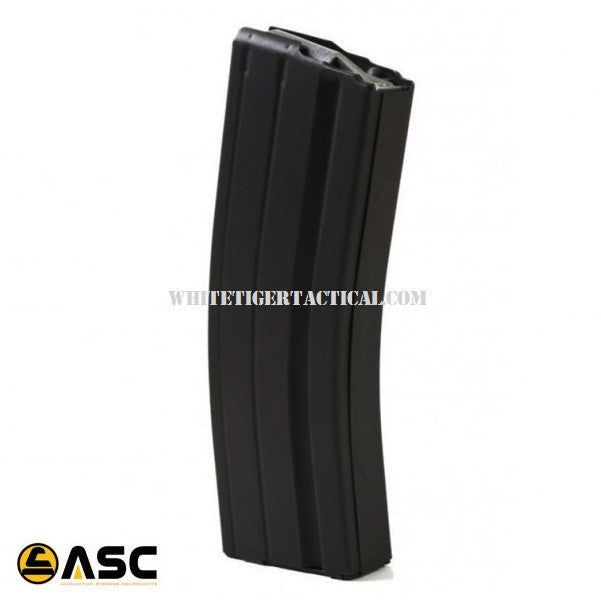 ASC 6.8 SPC 25rd Stainless Steel Magazine 25 Round Mag AR-15 M4