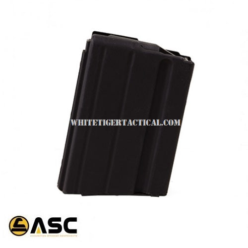 ASC 7.62x39mm 5rd Stainless Steel Magazine 5 Round Mag 7.62X39-5RD-SS AR-15 M4