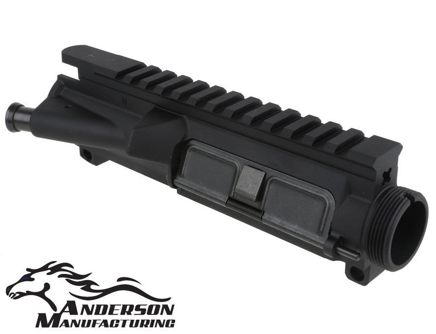Anderson Manufacturing Complete A3 Upper Receiver w/ FA & Dust Cover 7075-T6 Black Finish AR15-A3-UPPER-COMPLETE AR15 / M4 / M16