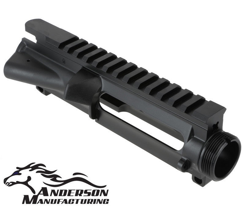Anderson Manufacturing Stripped A3 Upper Receiver 7075-T6 Black Finish AR15-A3-UPFOR-UM AR15 / M4 / M16