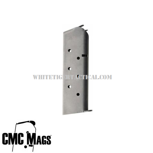 Chip McCormick 14142 Shooting Star .45 ACP 8 Round Magazine Stainless Steel Finish for 1911 Government Commander .45acp 8rd Mag