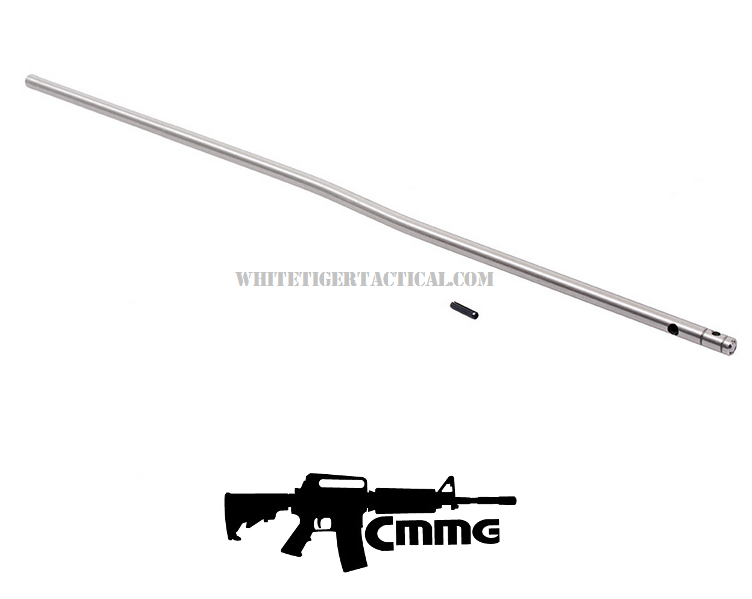 CMMG Carbine Length Stainless Steel Gas Tube and Roll Pin Kit 55DA193 AR15 / M4 / AR-10 / SR25 / LR-308