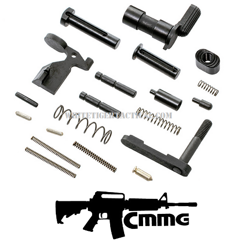 CMMG AR-15 Gunbuilder's LPK Lower Parts Kit w/ No Trigger or Grip 55CA601 .223 / 5.56 AR15 M4