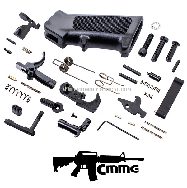 CMMG AR-15 LPK Enhanced Lower Parts Kit w/ Ambidextrous Ambi Safety Selector 55CA6B8 .223 / 5.56 AR15 M4