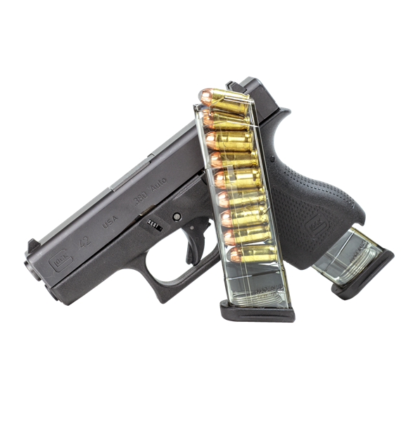 ETS Elite Tactical Systems Glock 42 9 Round .380ACP Mag G42 9rd .380 ACP Magazine GLK-42-9