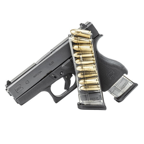 ETS Elite Tactical Systems Glock 43 9 Round 9MM Mag G43 9rd Magazine GLK-43-9