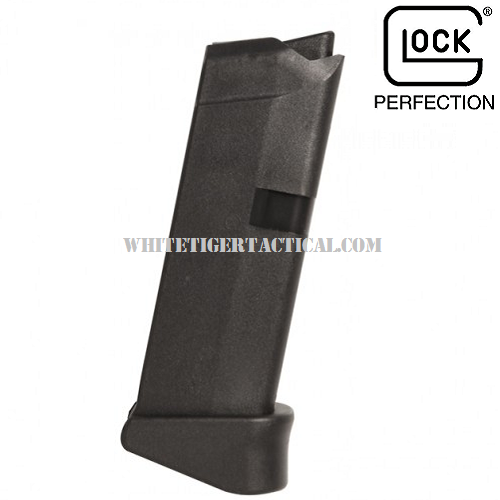 Glock 42 .380 ACP Mag Magazine Single Stack 6 Round 6rd w/ Finger Rest Pinky Grip Extension G42 Factory OEM MF08833 / MF08822