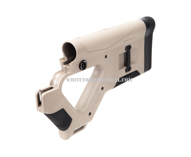 Hera Arms 12.13 CQR Thumbhole Buttstock TAN FDE (Normal or Standard Stock Model) AR15/M4/M16