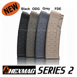 Hexmag (Series 2) OD Green AR-15 30 Round Mag Magazine .223 5.56 300 AAC 458 SOCOM 50 Beowulf HX30-AR15S2-ODG