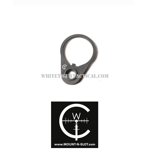 Impact Weapons Components QD Endplate Rotation Limited Quick Detach Ambidextrous Sling Receiver Adapter W/ or W/out Swivel AR15 M4 AR-10 SR25 LR-308 IWC QDENDPLATEIWC